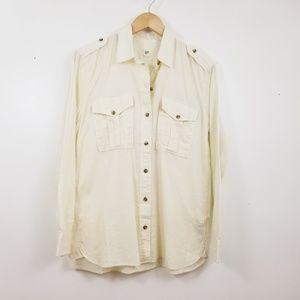 Gap S Lightweight Utility Shirt Button-up NWT